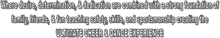 Where desire, determination, & dedication are combined with a strong foundation of